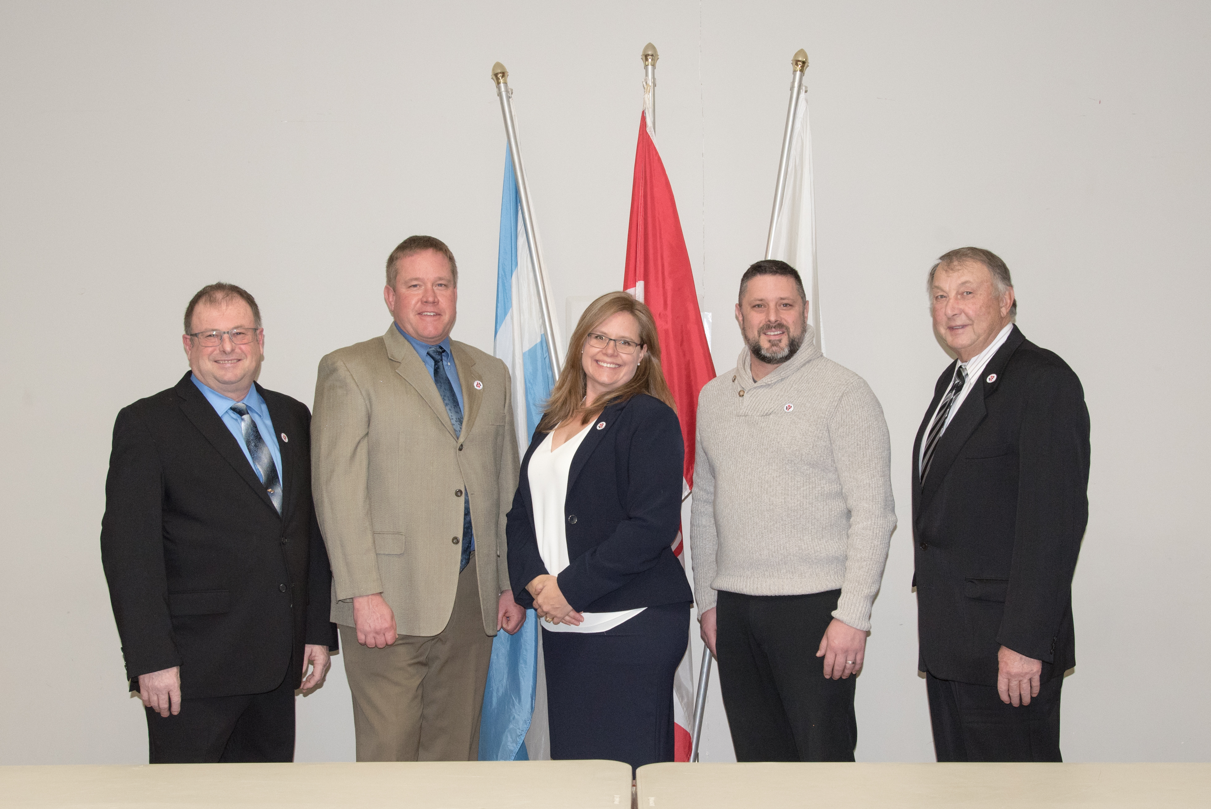 Warwick Township Council members