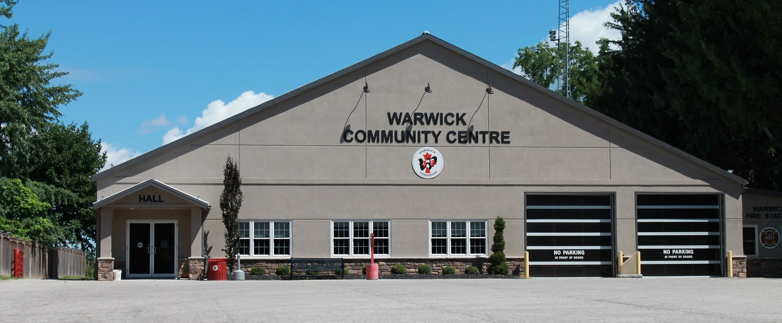 Warwick Community Centre building