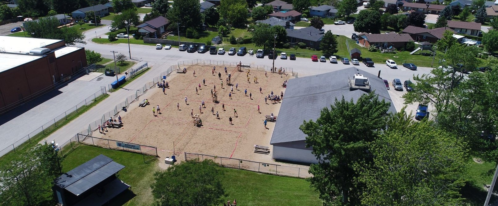 Watford Optimist Beach Bump Tournament Drone Photo